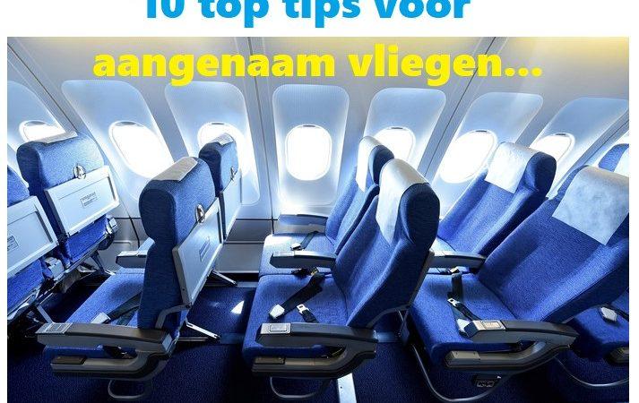 10 Tips voor vliegen in economy class